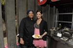 Ashley Greene, Golden Globes, Kari Feinstein Style Lounge, Zune LA, Rasta Taco, Celebrity, pictures, catering, taco cart