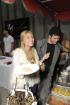 Cassie Scerbo, actress, Golden Globes, Kari Feinstein Style Lounge, Zune LA, Rasta Taco, Celebrity, pictures, catering, taco cart