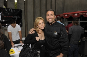 Cheryl Hines, Golden Globes, Kari Feinstein Style Lounge, Zune LA, Rasta Taco, Celebrity, pictures, catering, taco cart