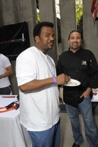 Craig-Robinson, Golden Globes, Kari Feinstein Style Lounge, Zune LA, Rasta Taco, Celebrity, pictures, catering, taco cart