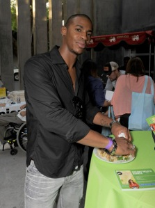 Mehcad Brooks attends the Kari Feinstein Primetime Emmy Awards style lounge at Zune LA on September 18, 2009 in Los Angeles, California.
