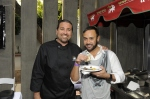 Nick Verreos, project runway, Golden Globes, Kari Feinstein Style Lounge, Zune LA, Rasta Taco, Celebrity, pictures, catering, taco cart