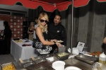 Paris Hilton, Golden Globes, Kari Feinstein Style Lounge, Zune LA, Rasta Taco, Celebrity, pictures, catering, taco cart