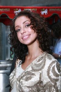 Singer Mya attends the Kari Feinsten Primetime Emmy Awards style lounge at Zune LA on September 17, 2009 in Los Angeles, California.