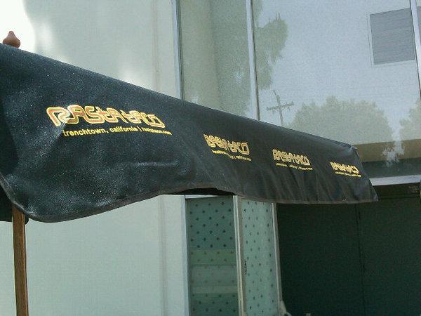 rasta taco umbrella
