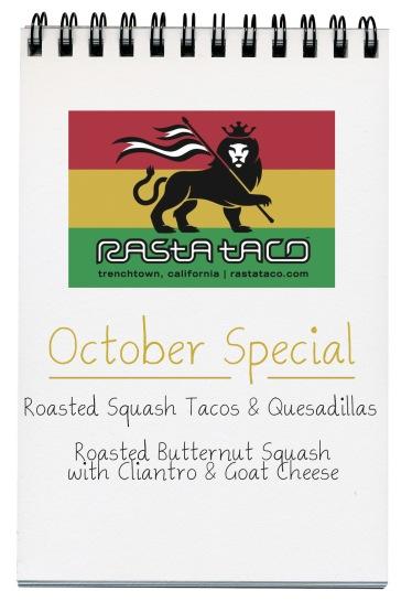 Rasta Taco Special